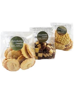 Biscuits - Sucré de fructose 3 x 100g