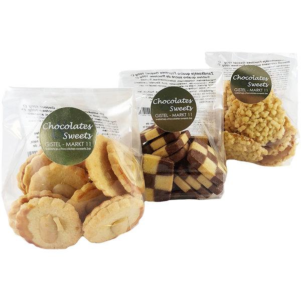 Kekse - Fruchtzucker gesüßt 3 x 100g