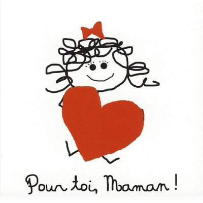 Greeting Card 'Pour toi, Maman'