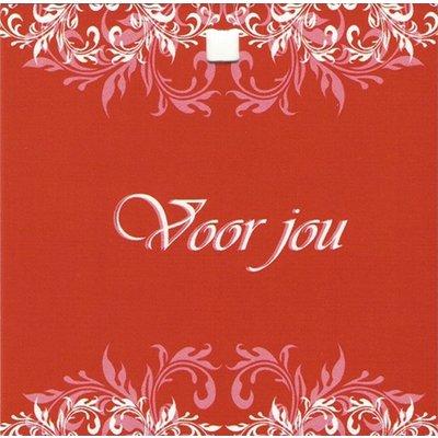 Carte de voeux 'Voor jou'