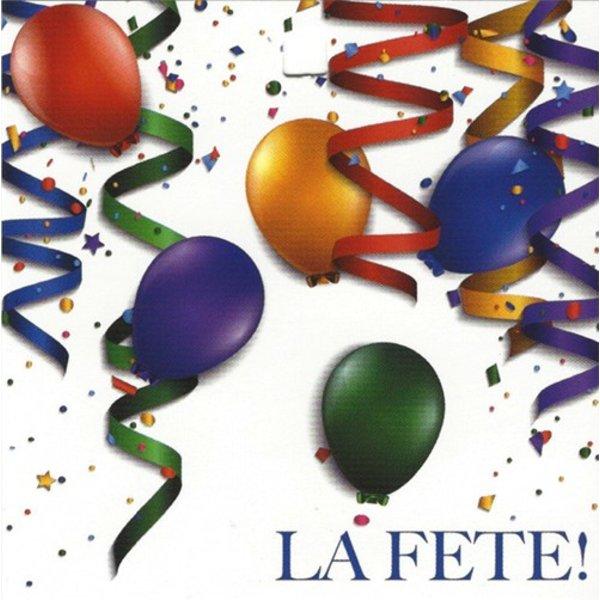 Carte de voeux 'La Fête!'
