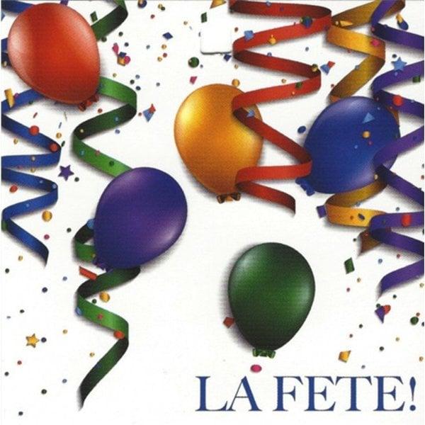 Wenskaart 'La Fête!'