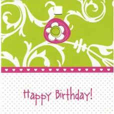 Happy Birthday! (7x7cm)