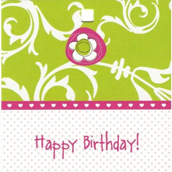 Carte de voeux 'Happy Birthday!'