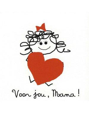 Voor jou, Mama (7x7cm)
