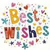 Grußkarte 'Best Wishes'