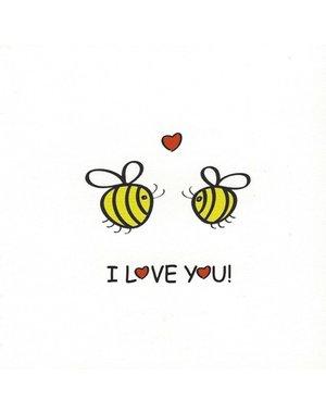 I love You (7x7cm)
