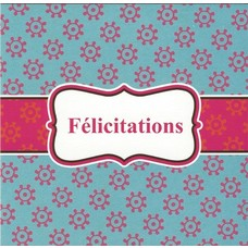 Félicitations (7x7cm)