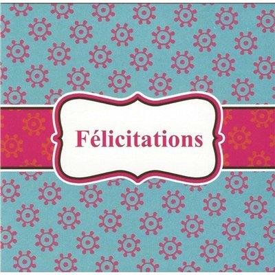 Carte de voeux 'Félicitations'
