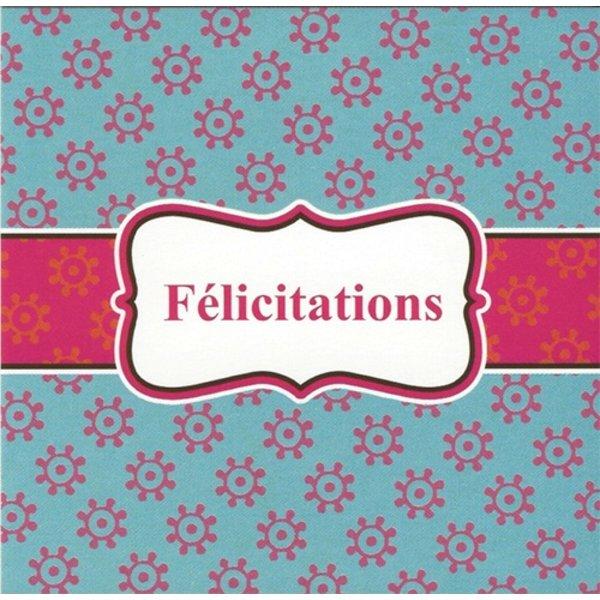 Wenskaart 'Félicitations'