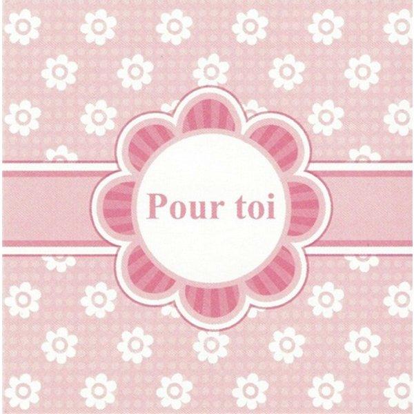 Greeting Card 'Pour toi'