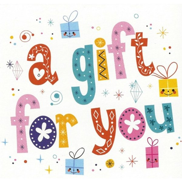Greeting Card 'A gift for You'