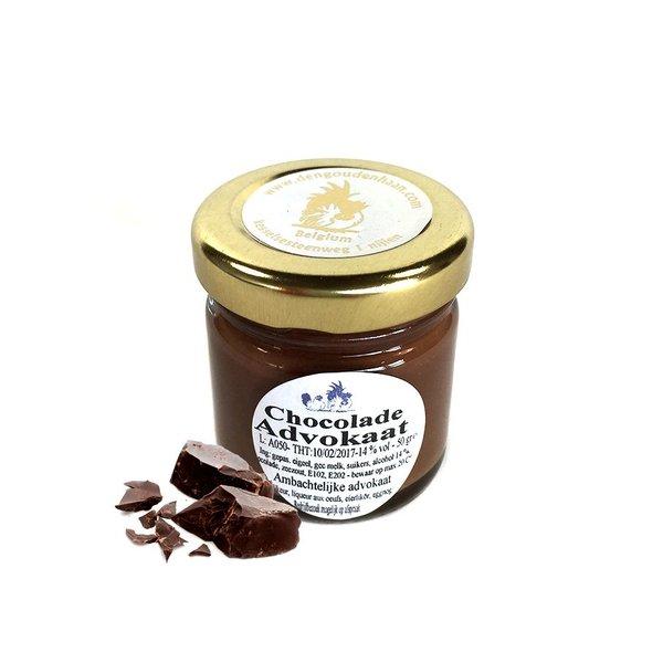Den Gouden Haan Advokaat met chocolade 45g