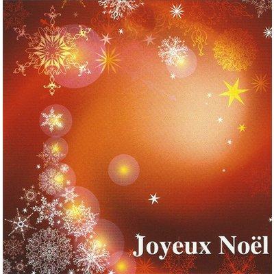 Grußkarte 'Joyeux Noel'