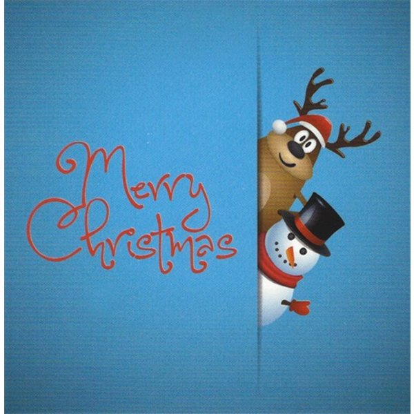 Carte de voeux 'Merry Christmas'