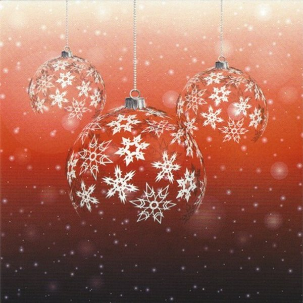Wenskaart 'Fijne Kerst'