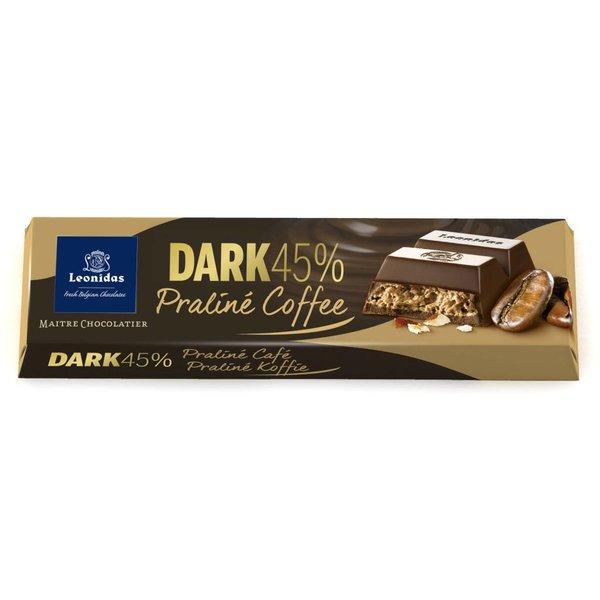 Leonidas Reep Puur 45% cacao - Praliné koffie 50g