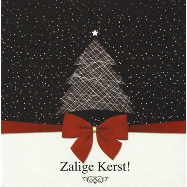 Carte de voeux 'Zalige Kerst'
