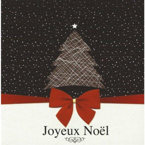 Wenskaart 'Joyeux Noël'