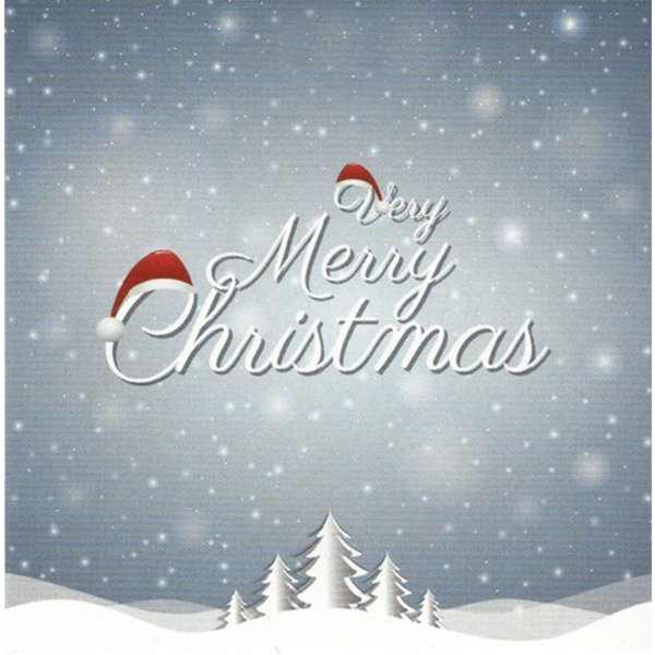 Grußkarte 'Merry Christmas'