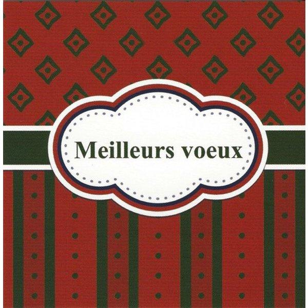 Carte de voeux 'Meilleurs vœux'