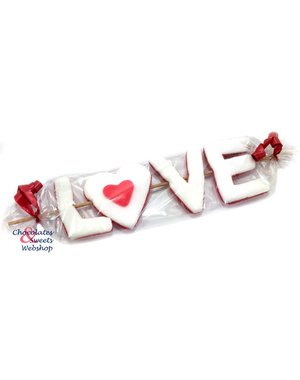Candy stick LOVE