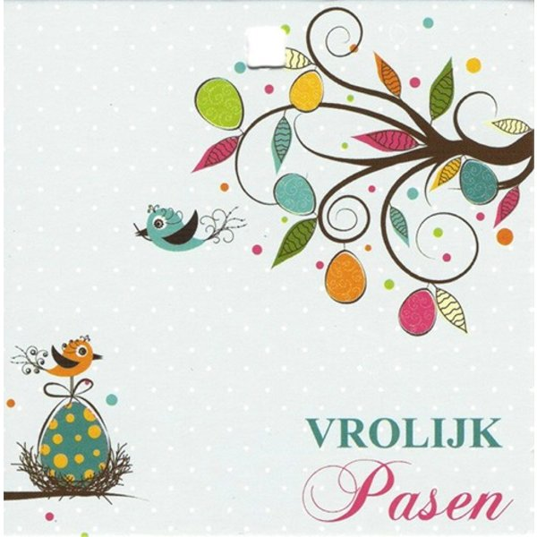 Greeting Card 'Vrolijk Pasen'