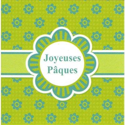 Grußkarte 'Joyeuses Pâques'