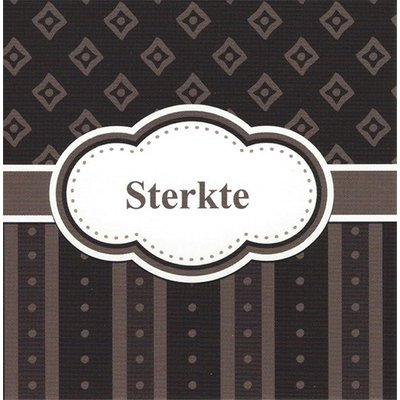 Greeting Card 'Sterkte'