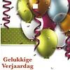 Wenskaart 'Gelukkige verjaardag'