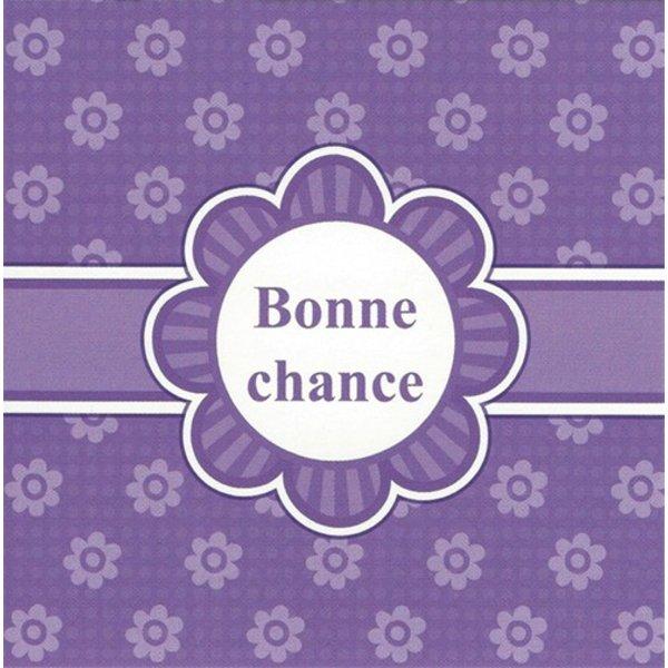 Greeting Card 'Bonne chance'