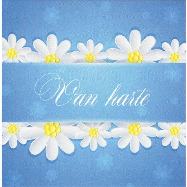 Greeting Card 'Van harte'
