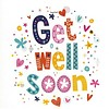 Greeting Card 'Get well soon'