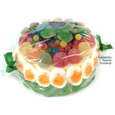 Gâteau de bonbons Kermit