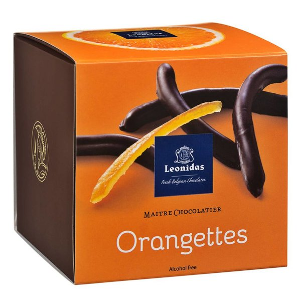 Leonidas Würfel Orangettes 350g
