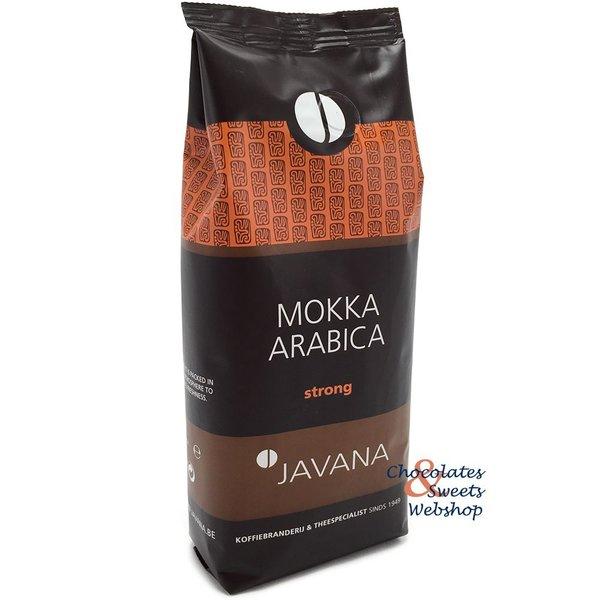 Javana Mokka Arabica 250 gram (gemalen)