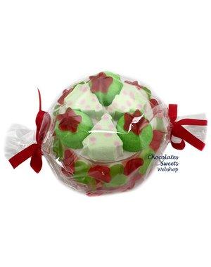 Süßigkeitentorte Weihnachten