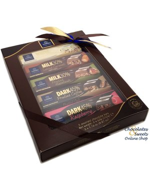 Leonidas Chocolate Bars 5-Pack