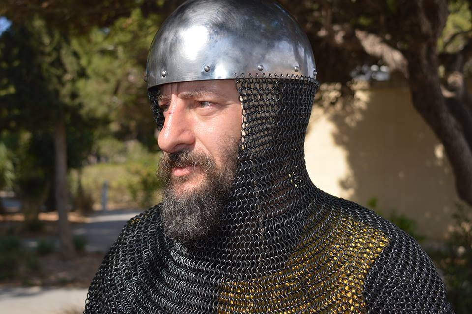 Middle Ages man-at-arms