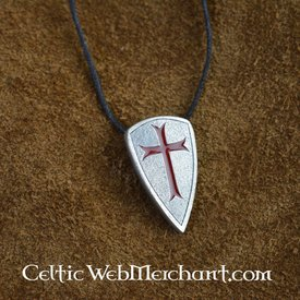 Templar shield pendant