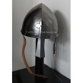 Norman nasal helmet with clover