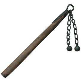 Fabri Armorum Flail with double iron ball