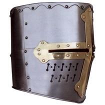 12th century great helmet Templar