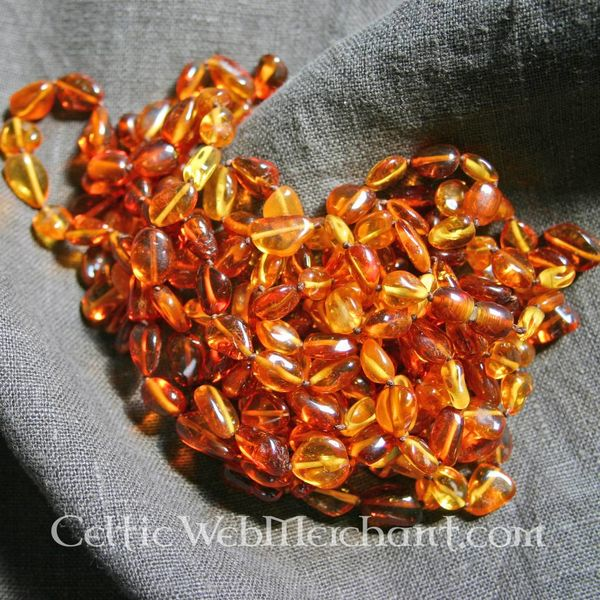 Amber necklace Dorestad