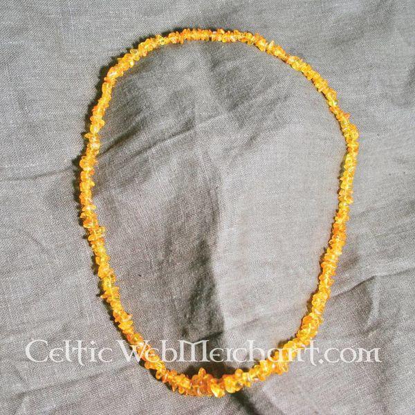Amber necklace Birka