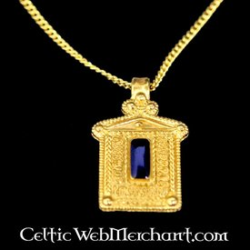 Roman temple pendant, 3rd century AD