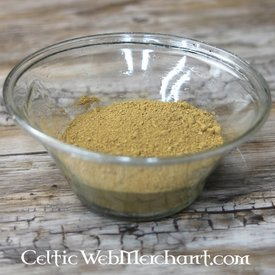 Pigment green ochre 100 grams