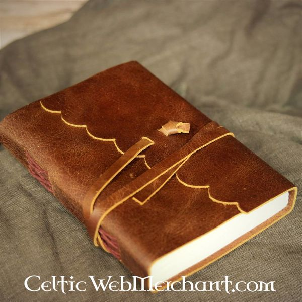 House of Warfare Hand-bound leather journal