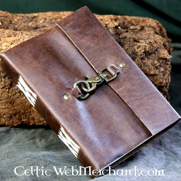 House of Warfare Leather diary with lock