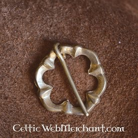 Marshal Historical Round 15th century brooch